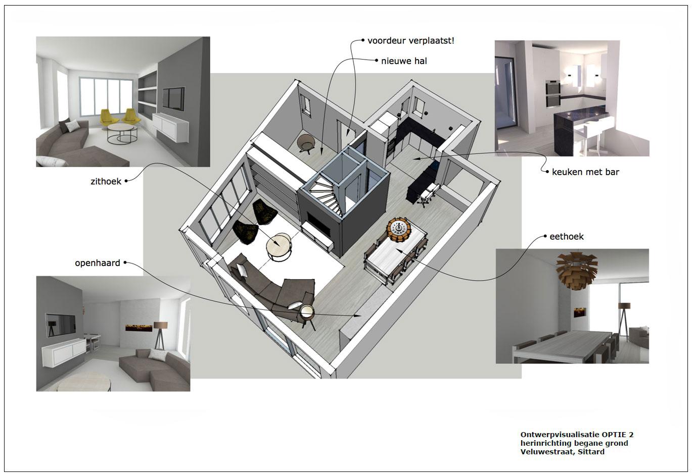 huis verkopen ontwerp plattegrond