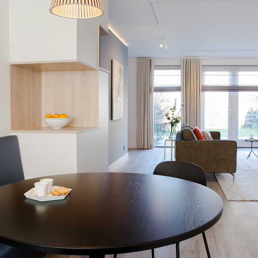 woonkamer verbouwing ontwerp