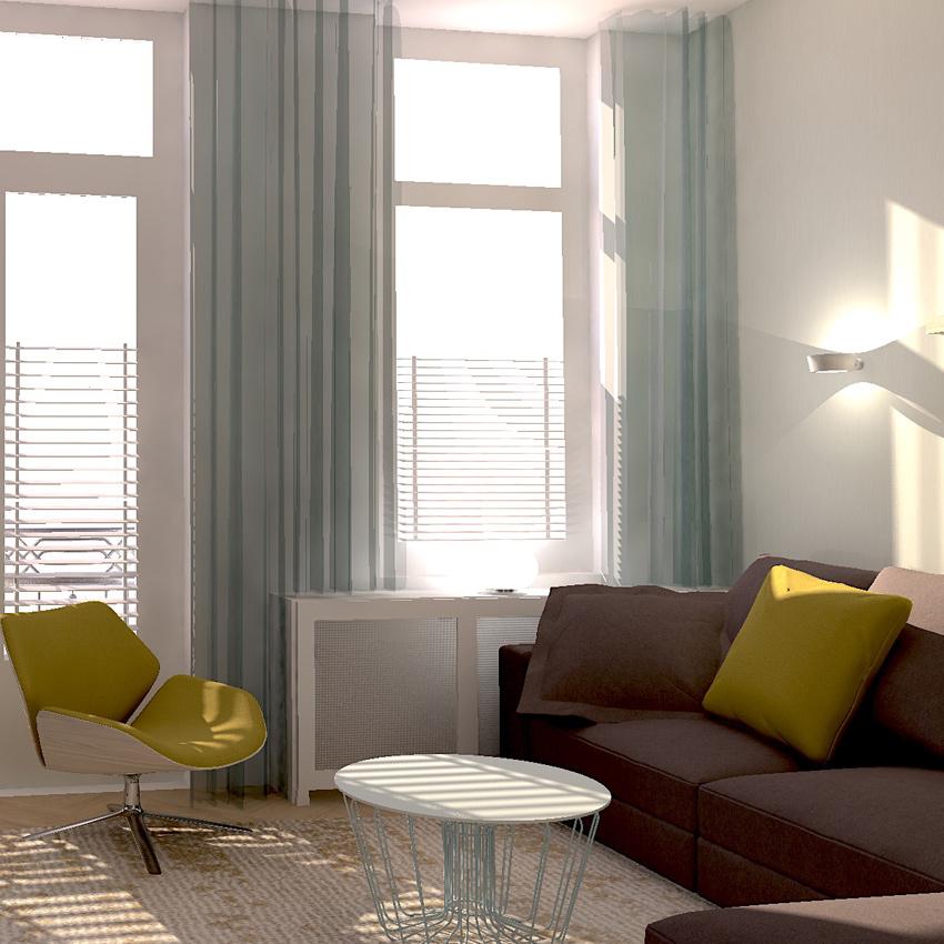 woonkamer zee kleuren